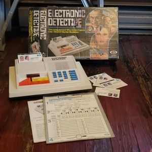 Vintage 1979 - Electronic Detective Murder Mystery